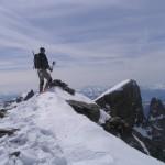 Au sommet du Pic du Rif