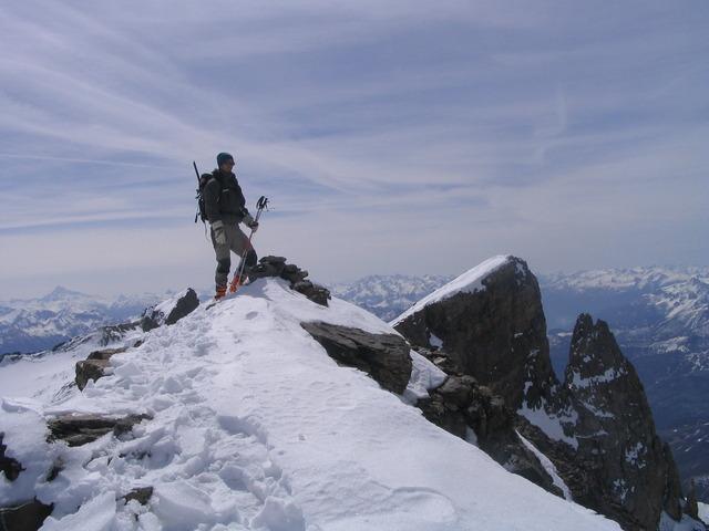 Pic du Rif à ski