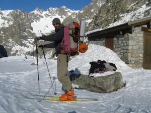Au retour de la Couzy desmaison à ski