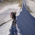 Arête de neige Zinalrothorn