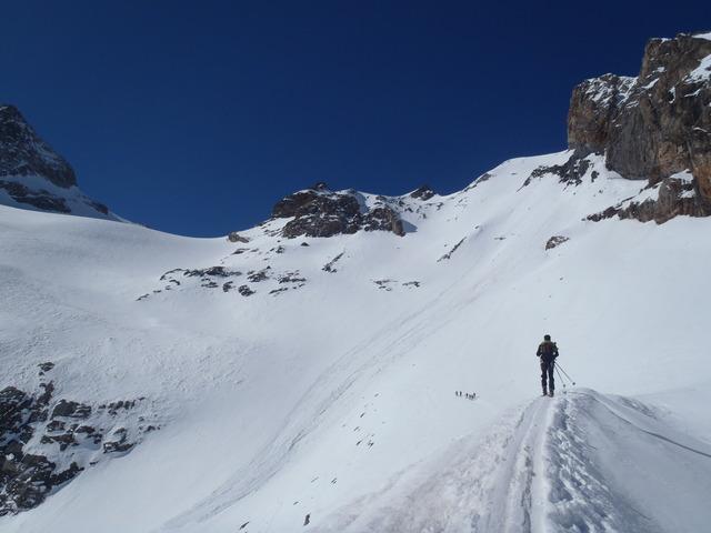 Montée du glacier de Séguret Foran