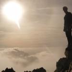 Nico au sommet du Pic du Glacier Blanc