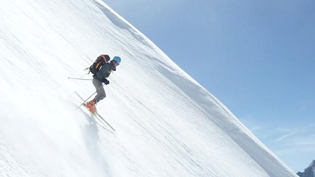 Pointe Cézanne à ski