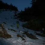 La neige subsiste au dessus des Boussardes