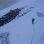 Retour sur le glacier de l'Olan