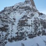 La tête de Gramusat et ses cascades de glace