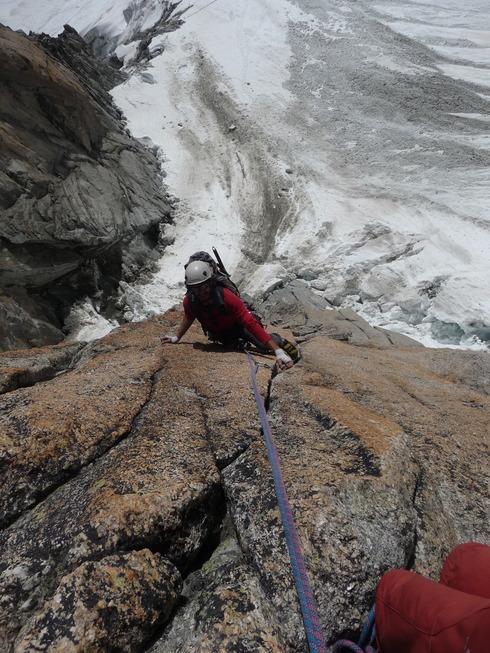 Pilier Gervasutti – Mont Blanc du Tacul
