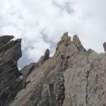 Plus haut dans le Pilier Gervasutti