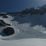 Avalanche vers Peyre - Eyraute