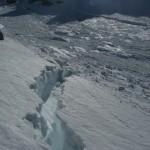 Cassure de l'avalanche, c'est de la plaque