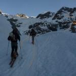 L'itinéraire pour monter au refuge et à la pointe Cezanne