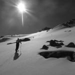 Dans la montée de Pointe du vallon