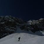 Col Claire - Le couloir de montée
