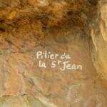 Le nom du Pilier de la Saint Jean