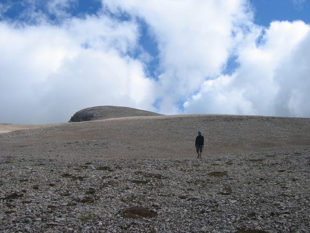 Sur le Plateau du Pic de Bure