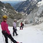 Ecole glace - Glacier Blanc - Fin de la visite