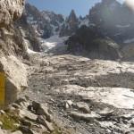 Le glacier de la Charpoua