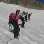 Tour des Ailefroides - Col du Sélé - La fine équipe verso