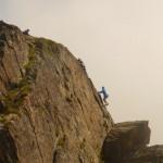 Crakoukass - Oliv arrive au summit