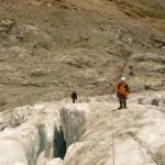 En route pour une petite balade glaciaire