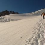 Traversée du Pelvoux - Vers 3550m, dans la poudreuse