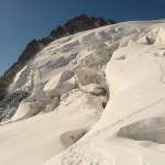Traversée du Pelvoux - Effrayant ce glacier!