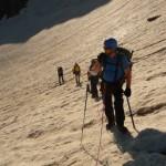 Tour des Ailefroides - Col du Sélé - La fine équipe recto