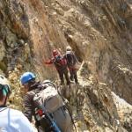 Tour des Ailefroides - Col du Sélé - Descente du Col du Sélé