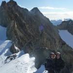 Roche Paillon - Et derrière Emile Pic et son arête rocheuse bien aérienne