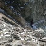 Roche Paillon - La descente du col Emile Pic