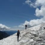 Roche Paillon - En descendant le Glacier Blanc
