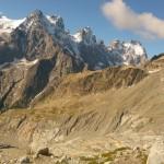 Dôme des Ecrins - A la descente devant le Pelvoux