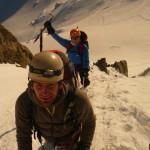 Mont Blanc par les Trois Monts - La fin du passage du Maudit