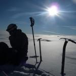 Mont Blanc par les Trois Monts - Ludo se restaure