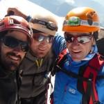 Mont Blanc par les Trois Monts - Les pieds nickelés