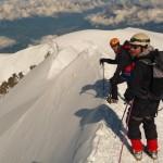 Mont Blanc par les Trois Monts - Sur l'arête des Bosses