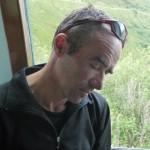 Mont Blanc par les Trois Monts - Denis fait dodo dans le train