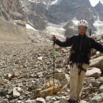 Tour des Ailefroides - Col de la Temple - Jeff joue les équilibristes