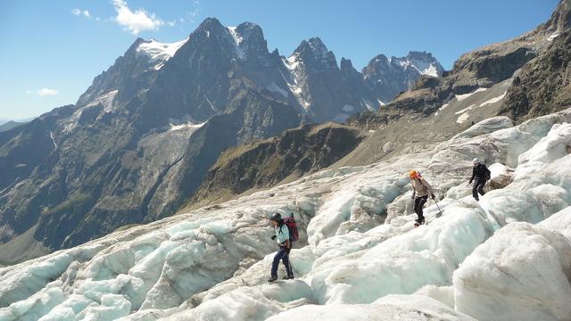 Ecole de Glace sur le Glacier Blanc