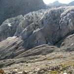 Ecole de Glace - Le bas du Glacier blanc