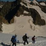 Dôme des Ecrins - A la descente