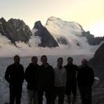 Ecole Glace - L'équipe devant leur futur butin