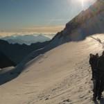 Dôme Ecrins - Non loin du sommet