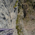 Voie du Pierrot - Enfin de la belle grimpe