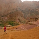 Taghia - Canyon apache - Retour au bled