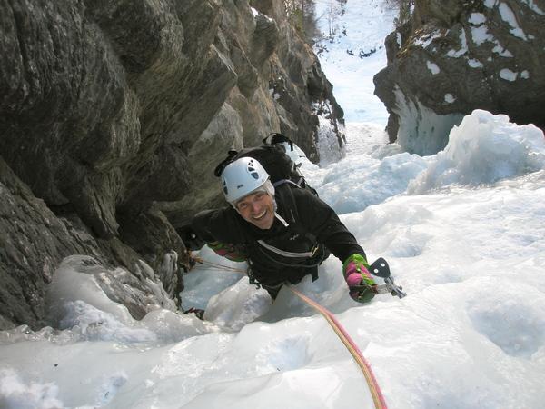 Guide - cascade de glace -  Forme du chaos