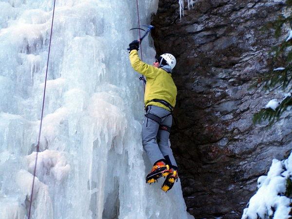 Guide - cascade de glace - Stage