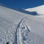 Arpelin - Ski - Arrivée au col