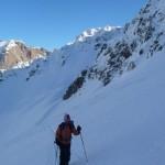 Ski - Combeynot - A la montée