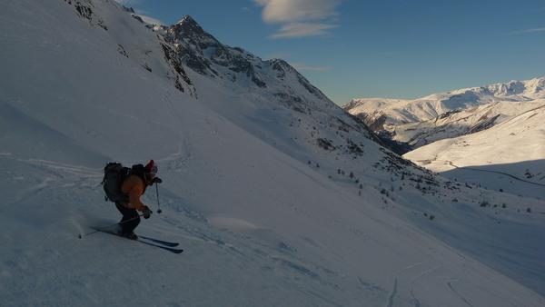 Ski au Pic W de Combeynot